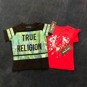 🔥JUST IN🔥Unique Boys' True Religion Shirt Bundle